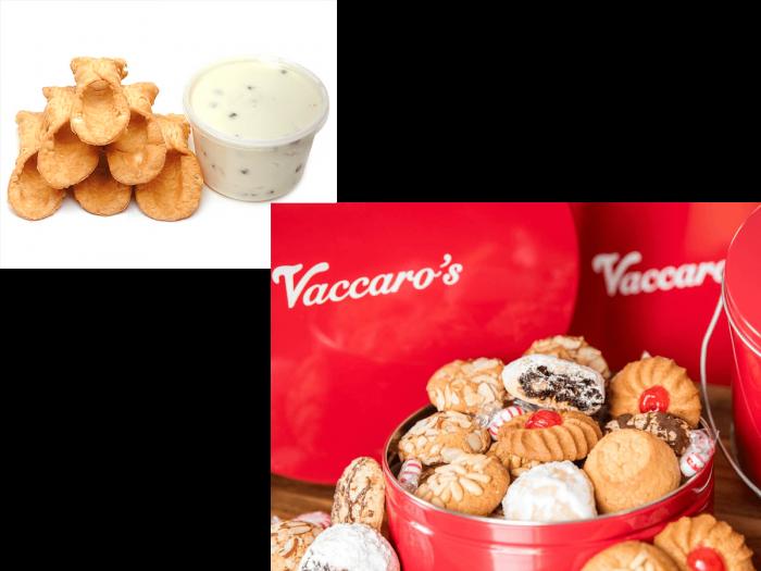 Six Cannoli & Tin of Cookies
